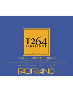 Fabriano 1264 Sketch Pad  60LB 14x17