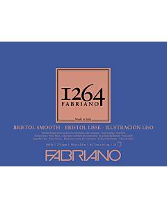 Fabriano 1264 Smooth Bristol Pad 100LB 18x24