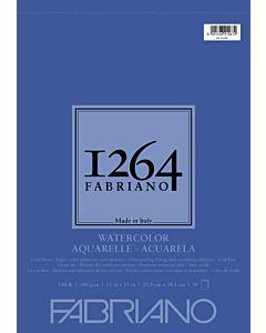 Fabriano 1264 Watercolor Pad Wire Bound 140CP 11x15 Portrait