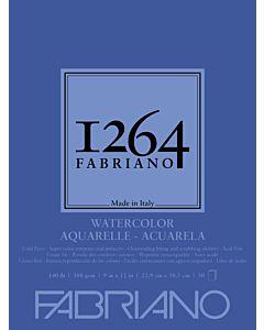 Fabriano 1264 Watercolor Pad 140CP 9x12