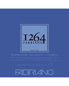 Fabriano 1264 Watercolor Pad 140CP 8x8
