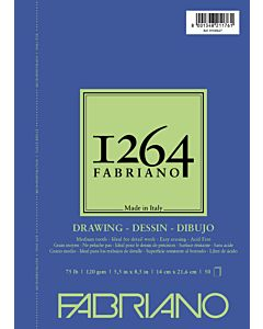 Fabriano 1264 Drawing  Pad Wire Bound 75LB 5.5x8.5