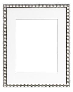"Framatic Bella Antique Silver 11x14"" Frame w/ 8x10"" Mat"