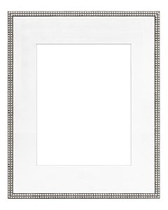 "Framatic Bella Antique Silver 16x20"" Frame w/ 11x14"" Mat"