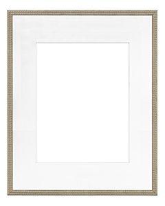 """Framatic Bella Antique Gold 16x20"""" Frame w/ 11x14"""" Mat"""