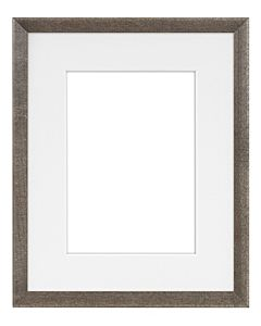 "Framatic Woodworks Barn Gray 8x10"" Frame w/ 5x7"" Mat"