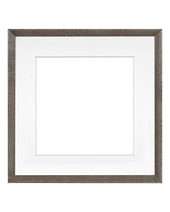 "Framatic Woodworks Barn Gray 11x11"" Frame w/ 8x8"" Mat"