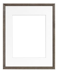 "Framatic Woodworks Barn Gray 11x14"" Frame w/ 8x10"" Mat"