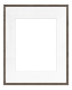 "Framatic Woodworks Barn Gray 16x20"" Frame w/ 11x14"" Mat"