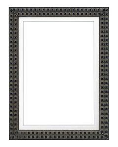 "Framatic Bella Black 5x7"" Frame w/ 5x7"" Mat"