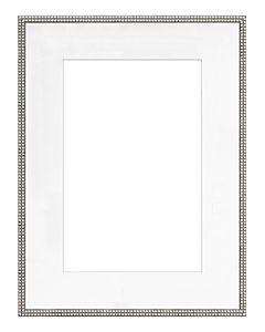 "Framatic Bella Antique Silver 18x24"" Frame w/ 12x18"" Mat"