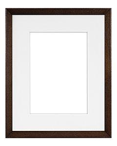 "Framatic Woodworks Dark Espresso 8x10"" Frame w/ 5x7"" Mat"
