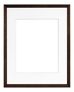 "Framatic Woodworks Dark Espresso 11x14"" Frame w/ 8x10"" Mat"