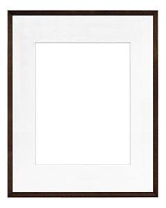"Framatic Woodworks Dark Espresso 16x20"" Frame w/ 11x14"" Mat"