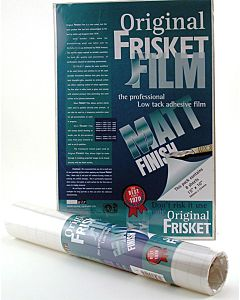 "Original Fristket Film Matte Finish Roll 10""X4yd"