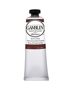 Gamblin Artist's Oil Color 37ml - Burnt Umber