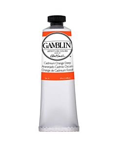 Gamblin Artist's Oil Color 37ml - Cadmium Orange Deep