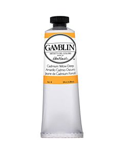 Gamblin Artist's Oil Color 37ml - Cadmium Yellow Deep