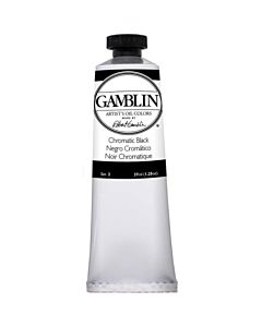 Gamblin Artist's Oil Color 37ml - Chromatic Black