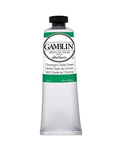 Gamblin Artist's Oil Color 37ml - Chromium Oxide Green