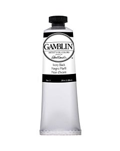 Gamblin Artist's Oil Color 37ml - Ivory Black