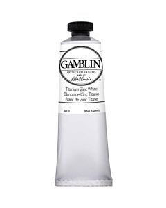 Gamblin Artist's Oil Color 150ml - Titanium Zinc White