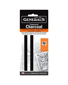 Compressed Charcoal Stick 2 pack - 6B