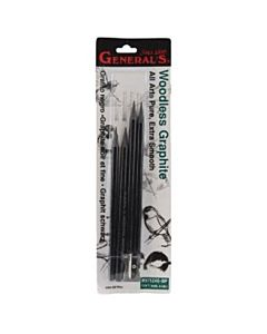 Pure Graphite Pencils 4 pack - Assorted