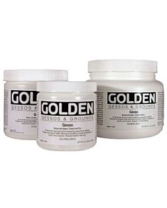 Golden White Gesso - 16oz Jar
