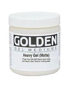 Golden Heavy Gel - Matte 16oz Jar