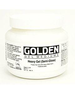 Golden Heavy Gel - Semi Gloss 16oz Jar