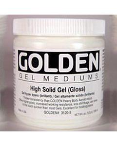 Golden High Solid Gel - Gloss 8oz Jar