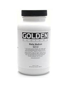 Golden Matte Medium - 8oz Jar