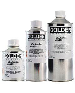 Golden MSA Varnish - Satin 1 Gallon