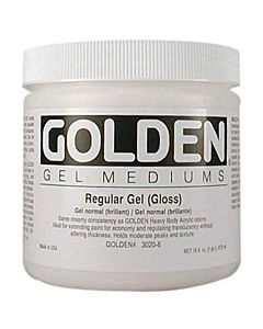 Golden Regular Gel - Gloss 8oz Jar