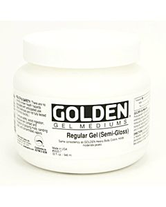 Golden Regular Gel - Semi Gloss 16oz Jar