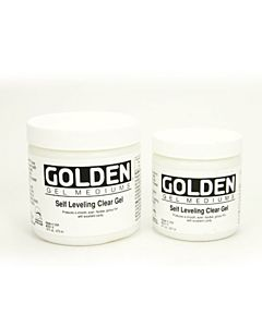 Golden Self-Leveling Clear Gel 8oz Jar