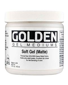 Golden Soft Gel - Matte 8oz Jar