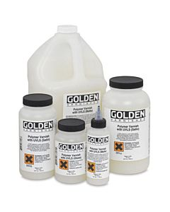 Golden Polymer Varnish - Gloss 4oz Jar