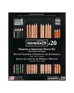General Pencil Kit #20