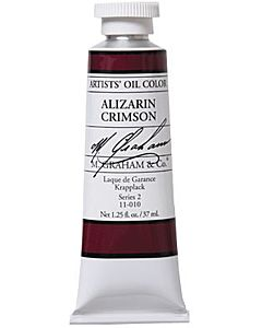 M. Graham Artist Oils - Alizarin Crimson 1.25oz