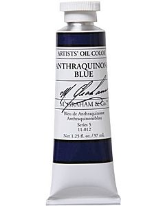 M. Graham Artist Oils - Anthraquinone Blue 1.25oz