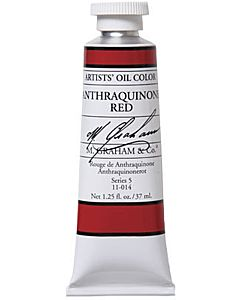 M. Graham Artist Oils - Anthraquinone Red 1.25oz