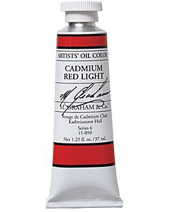 M. Graham Artist Oils - Cadmium Red Light 1.25oz