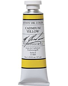M. Graham Artist Oils - Cadmium Yellow 1.25oz