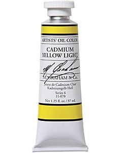 M. Graham Artist Oils - Cadmium Yellow Light 1.25oz
