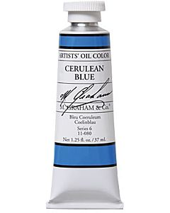 M. Graham Artist Oils - Ceruln Blue 1.25oz