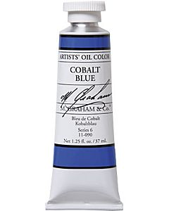 M. Graham Artist Oils - Cobalt Blue 1.25oz
