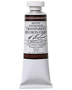 M.Graham Watercolors 15ml - Transparent Red Iron Oxide