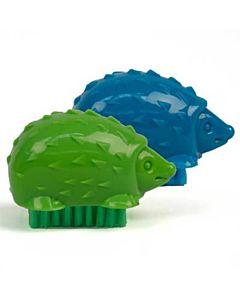 Kikkerland Hedgehog Nail Brush Assorted